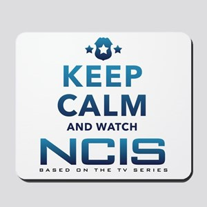 Keep Calm Watch NCIS Mousepad