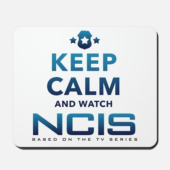 Keep Calm Watch NCIS Mousepad