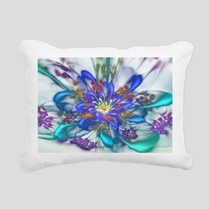 Thinking of Spring Rectangular Canvas Pillow