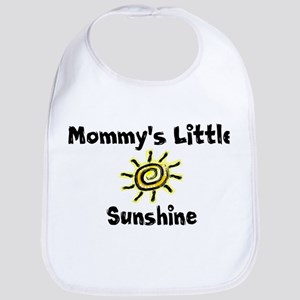Mommy's little sunshine Bib