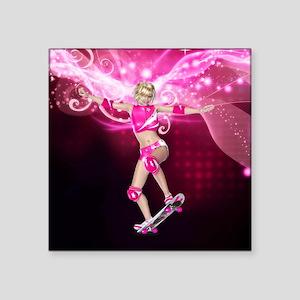 Skater Girl 1 Sticker