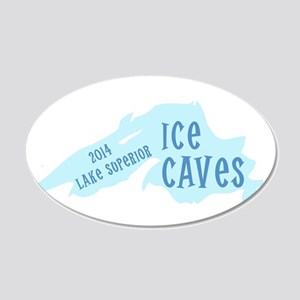 Lake Superior Ice Caves Wall Decal
