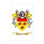 Fishkinhorn Sticker (Rectangle)