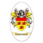 Fishkinhorn Sticker (Oval 10 pk)