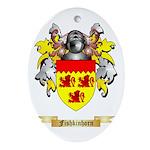Fishkinhorn Ornament (Oval)