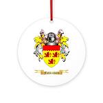 Fishkinhorn Ornament (Round)