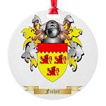 Fisher Round Ornament