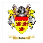 Fisher Square Car Magnet 3