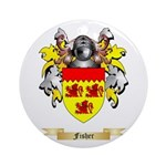 Fisher Ornament (Round)