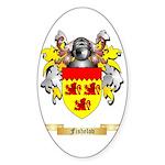 Fishelov Sticker (Oval 50 pk)