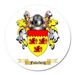 Fishelberg Round Car Magnet