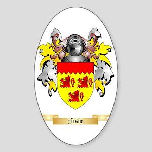Fishe Sticker (Oval)