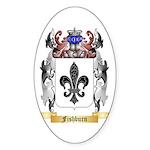 Fishburn Sticker (Oval 50 pk)