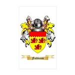 Fishbaum Sticker (Rectangle 50 pk)