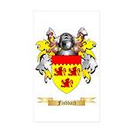 Fishbach Sticker (Rectangle 50 pk)