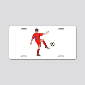Soccer Player No Txt Aluminum License Plate