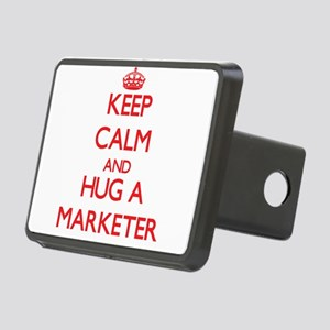 Keep Calm and Hug a Marketer Hitch Cover