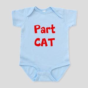 Part Cat Body Suit