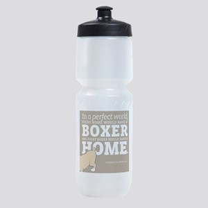 A Home for Every Boxer Sports Bottle
