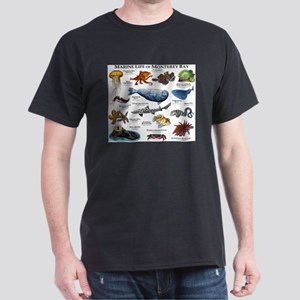 Marine Life of Monterey Bay Dark T-Shirt
