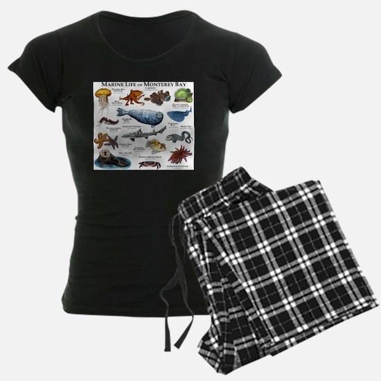 Marine Life of Monterey Bay Pajamas