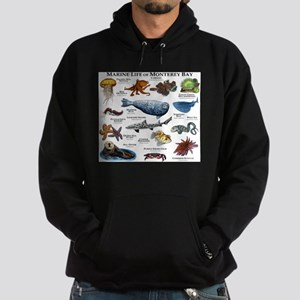 Marine Life of Monterey Bay Hoodie (dark)