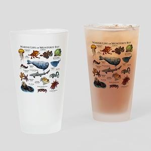 Marine Life of Monterey Bay Drinking Glass