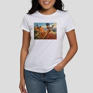 Pheasant Bird (Front) Women's T-Shirt