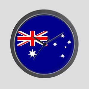 Australian Flag Wall Clock