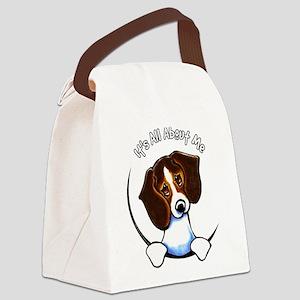 Tricolor Beagle IAAM Canvas Lunch Bag