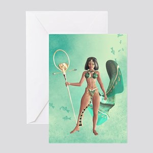 Cleopatra VII Greeting Cards