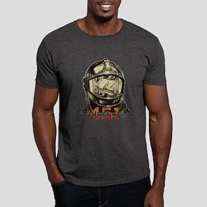 Fahrenheit 451 Fireman Grunge Dark T-Shirt