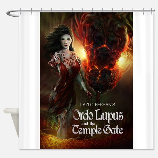 Ordo Lupus and the Temple Gate Shower Curtain