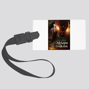 Ordo Lupus and the Temple Gate Large Luggage Tag