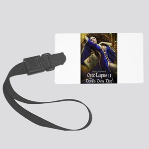 Ordo Lupus 2 the Devils Own Dice Large Luggage Tag
