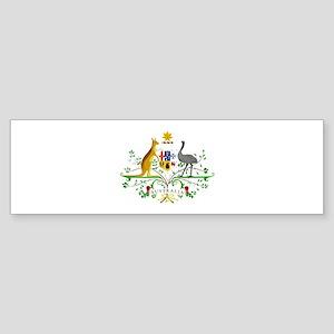 Australian Emblem Bumper Sticker