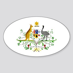 Australian Emblem Sticker