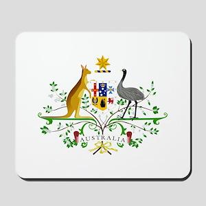Australian Emblem Mousepad