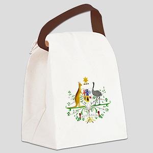 Australian Emblem Canvas Lunch Bag
