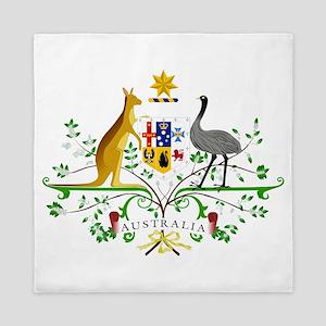 Australian Emblem Queen Duvet