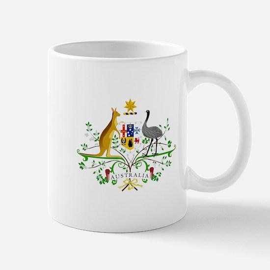 Australian Emblem Mugs