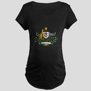 Australian Emblem Maternity T-Shirt