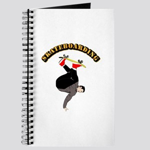 Skateboarding with Text Journal