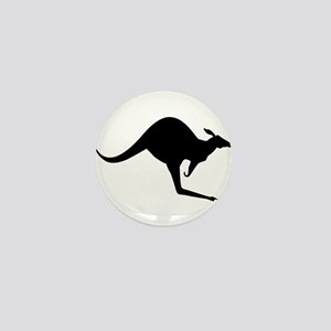 Australian Kangaroo Mini Button