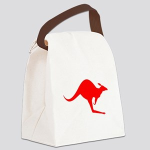 Australian Kangaroo Canvas Lunch Bag