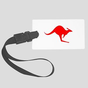 Australian Kangaroo Luggage Tag