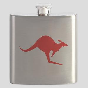 Australian Kangaroo Flask