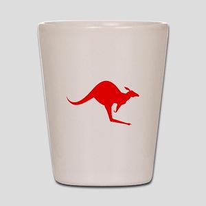 Australian Kangaroo Shot Glass