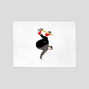 Skateboarding - No Txt 5'x7'Area Rug