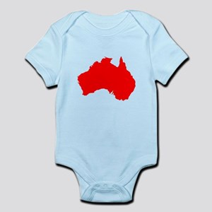 Australian Map Body Suit
